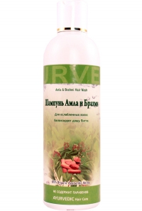 Шампунь Амла и Брахми (Amla and Brahmi Hair Wash) .